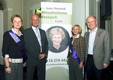 The JHMRF team at the Patient and Carer Day 2008